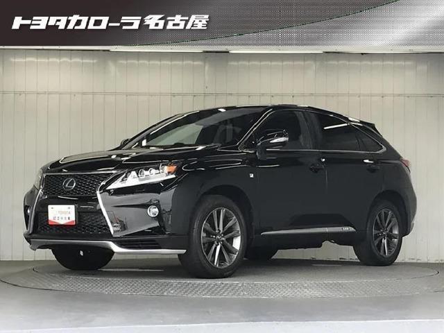 平成24年式/レクサス・RXHV・Fスポーツ/車検整備付き/ワンオーナー/4WD/サンルーフ/メーカーHDDナビ
