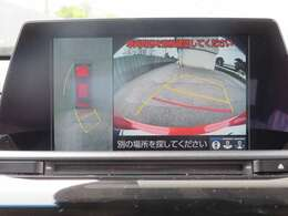 車庫入れや車両感覚が分かりやすい全方位式カメラも装備されております。