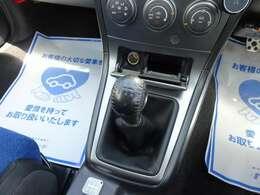 【5速MT】マニュアル車初めての方でも運転しやすい5速マニュアルです♪