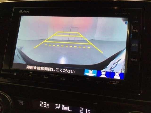 純正メモリーインターナビ バックカメラも搭載でバックする際も安心です!