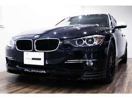 正規ディーラー車 2014年モデル BMW ALPINA B3ツーリング 右ハンドル ブラックサファイヤメタリック/サドルブラウンダコタレザー
