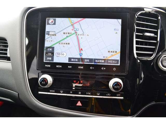 8インチスマートフォン連携ナビゲーションを装備!地デジ FM/AMラジオ Bluetooth ハンズフリー スマホをUSBポートにつなぐだけでAndroid AutoやApple CarPlayのアプリケーションを使用できます。