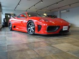 フェラーリ 360モデナ 3.6 6速・コーンズ物クライスVerウルフ・車高調