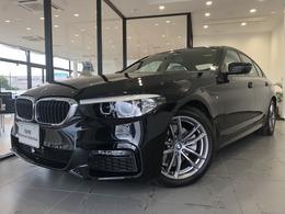BMW 5シリーズ 523d xドライブ Mスピリット ディーゼルターボ 4WD 弊社デモカー認定保証ACC禁煙車