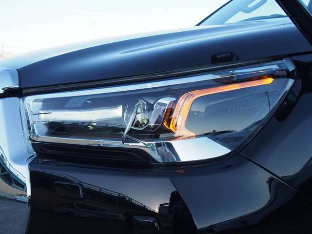 純正LEDヘッドライト&LEDウインカー