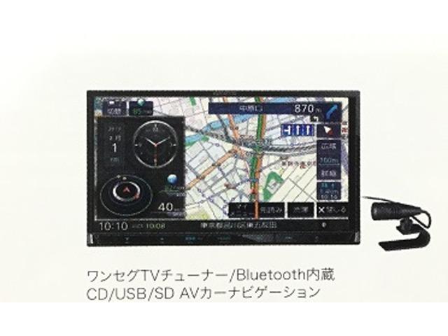 Aプラン画像:最新ナビ(ワンセグTV/ブルートゥース/CD/USB)と連動ドラレコ(フロントカメラ)をセットにしたお求め易いパックです♪◆取付キット、工賃込