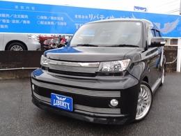 トヨタ bB 1.5 Z エアロGパッケージ ストリートビレット ナビTVレザー調シートカバー18AW