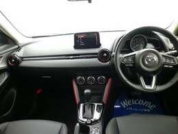 人間工学を駆使して設計された運転席周りのデザインで、ドライビングポジションも取り易く、快適な運転を楽しんでもらえます。