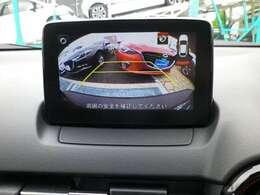 駐車時などの後方の確認にバックカメラがあれば安心です。