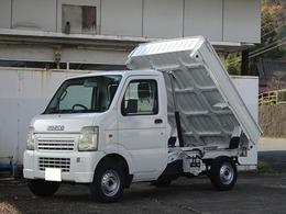 スズキ キャリイ 660 KCエアコン・パワステ 3方開 4WD ダンプ デフロック 保証付