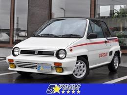 ホンダ シティカブリオレ オートマチック車 初代モデル 社外CD オープンカー