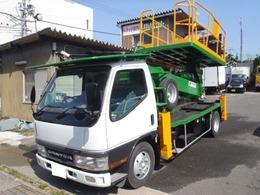 三菱ふそう キャンター 12m高所作業車 タダノスーパーデッキ AT-120S