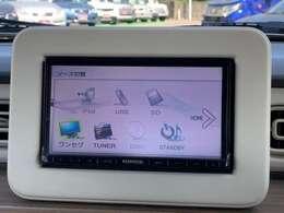 ◆社外メモリーナビ【ワンセグTV付き、音楽プレイヤー接続可能。バラエティー性に富んだ装備なので道案内だでなくドライブを楽しくさせてくれます】