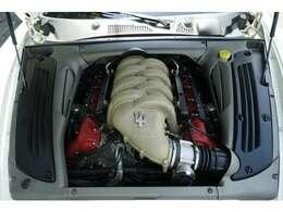 4.2Lフェラーリ製エンジン!!フェラーリ製エンジンがマセラティへの供給を終了したとの報道がありました。こちらエンジンの調子はとても良いです!!