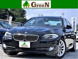 BMW 5シリーズ 535i ワンオーナー黒本革SR純正HDDナビ地デジ
