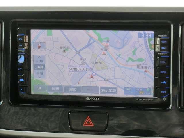 メモリーナビ<MDV-D502BTW>(フルセグTV/CD/DVD/SD/Bluetooth/録音機能)!