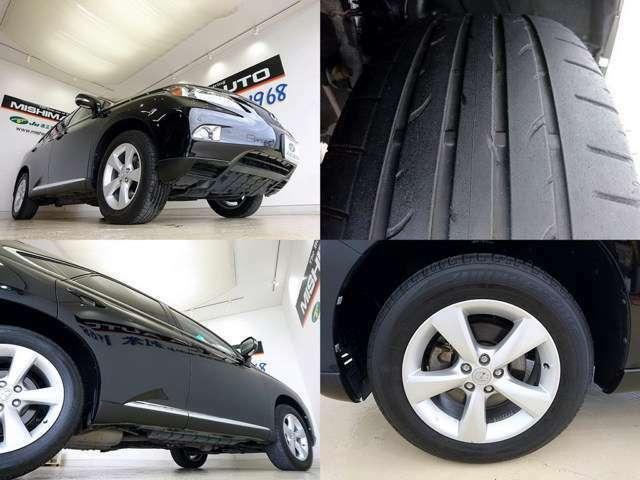 タイヤは交換時期ですね 契約時 格安にて承ります 4本工賃込で 5万円~