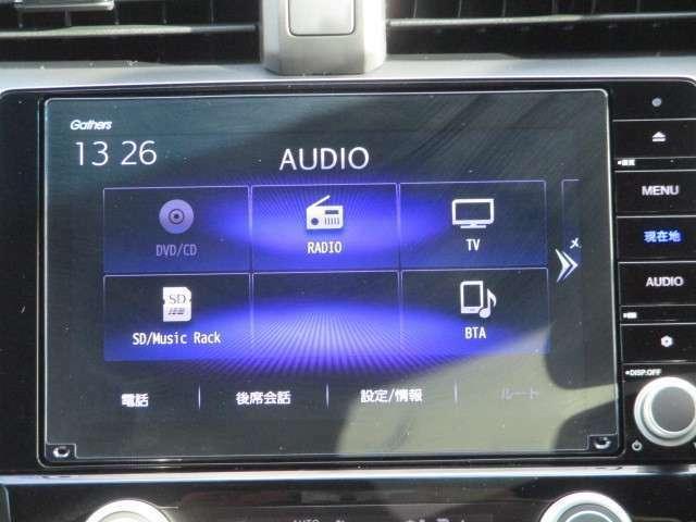 純正メモリーナビです。DVD/CD再生のほかにもフルセグTV、ミュージックサーバー、Bluetooth連携機能も装備されとっても便利です!