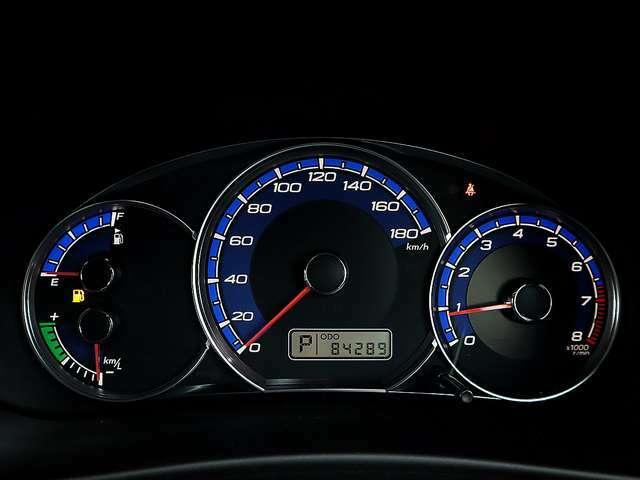 【メーター】現在の走行距離は84,289kmでございます。