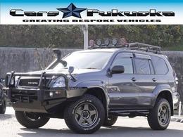 トヨタ ランドクルーザープラド 3.0 TX ディーゼルターボ 4WD リフトアップ 社外バンパー シュノーケル