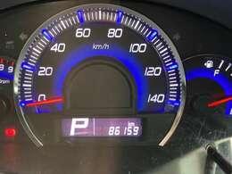走行86500km
