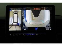 PMV映像は配線加工済みなのでナビ画面でも確認することができます!