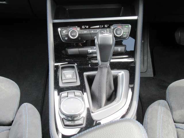 8AT(MTモード) デュアルオートエアコン iDriveコントローラー ドライビングモード 電子パーキングブレーキ