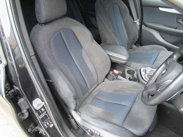 アルカンターラシート シートメモリ パワーシートはお好みのドライビングポジションに設定可能です。