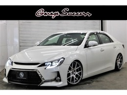 トヨタ マークX 2.5 250G リラックスセレクション G's仕様新WORK19AW新TEIN車高調ETC