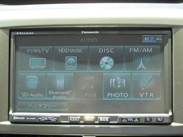 パナソニック CN-HW880D HDDナビです。