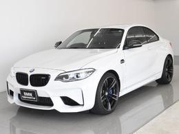 BMW M2クーペ 3.0 6MT 後期 黒革 Cリアディフューザ 1オーナ