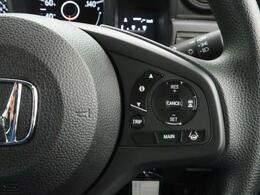 ACC【アダプティブクルーズコントロール】クルーズコントロールにレーダーを組合わせ、あらかじめ設定されたスピードを上限に自動で加減速を行い、一定の車間距離を維持するシステム。