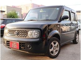 日産 キューブ 1.4 14S FOUR 4WD スマートキー・ナビ・TV・切替式4WD