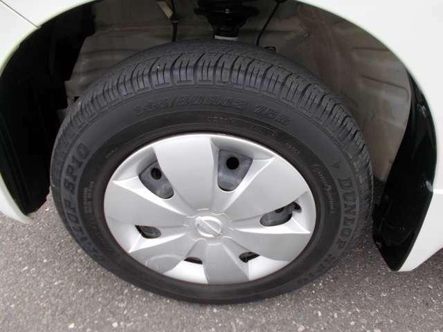 タイヤの状態も問題ないです。