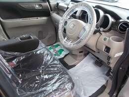 ベージュカラーの車内は落ち着い雰囲気があります(^^)/