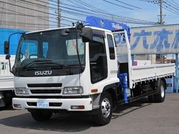 いすゞ フォワード タダノ4段クレーン ラジコン フックイン 7.2ディーゼル フロア6速MT