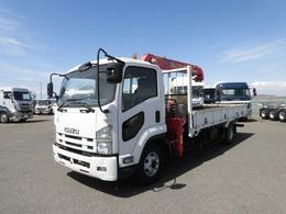 いすゞ フォワード 4段 ラジコン クレーン車 ユニック 2.9t吊