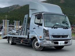 三菱ふそう ファイター 積載車2台積 キャリアカー
