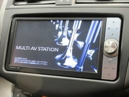 純正SDナビを装備でロングドライブも快適です。フルセグTV視聴可能!