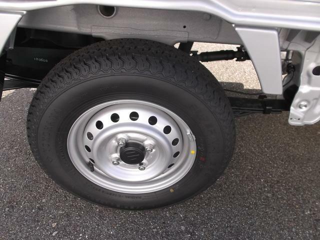 タイヤ溝もばっちり