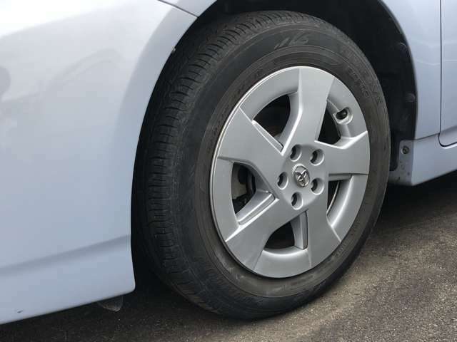 タイヤは新品へ交換いたします!
