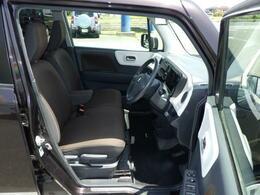 座席が高く運転がしやすいシート