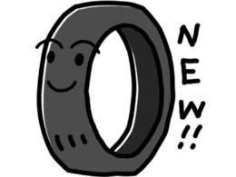 ☆新品夏タイヤをセットしホイールバランスを調整いたします☆
