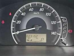 メーターもアナログ表示で、走行中でも確認しやすい大きさのスピードメーターになっています!