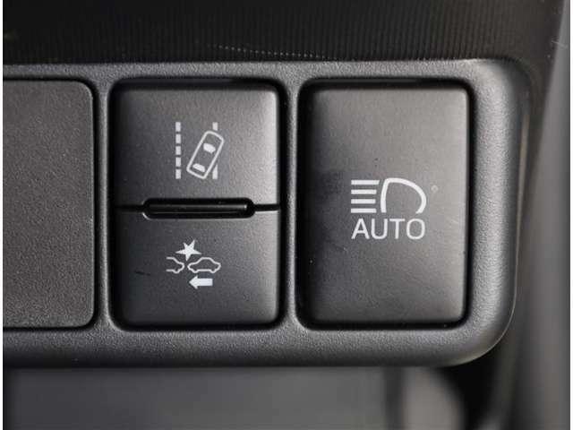 便利なオートマチックハイビームです 対向車を検知し自動的にハイビームとロービームを切り替えてくれます
