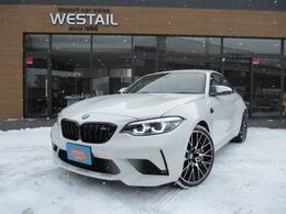 BMW M2コンペティション M DCTドライブロジック 1オーナー インテリセーフティ 19インチ