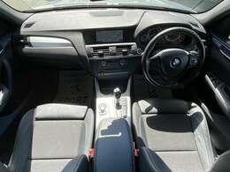 BMWの高級感のある内装は一見の価値あり。