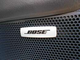 Bose社との共同開発によって室内空間に適した音響チューニングを施し、臨場感のあるリアルなサウンドを実現した新世代オーディオシステム。