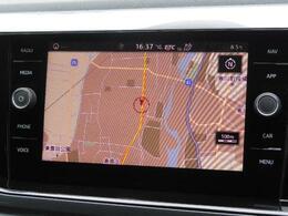 Volkswagen純正インフォテイメントシステムComposition Media インフォメーションの見易さと操作のし易さを8インチ大型タッチスクリーンで両立。スマホアプリを使えるApp-Conn