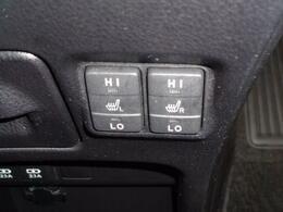 『ボタン一つで座面を暖めてくれるシートヒーター』冬場に嬉しい機能です。